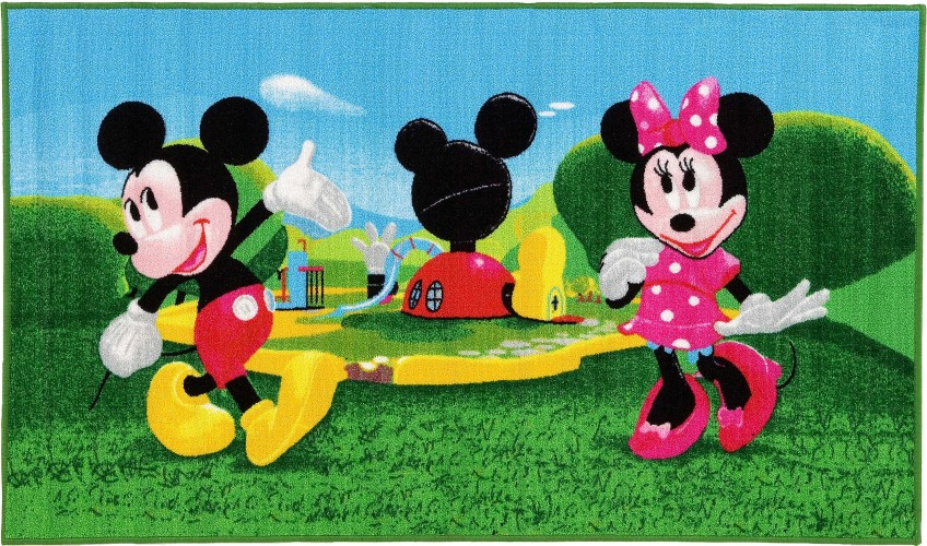 Vloerkleed Mickey Mouse Clubhouse: 140x80 cm (15419)