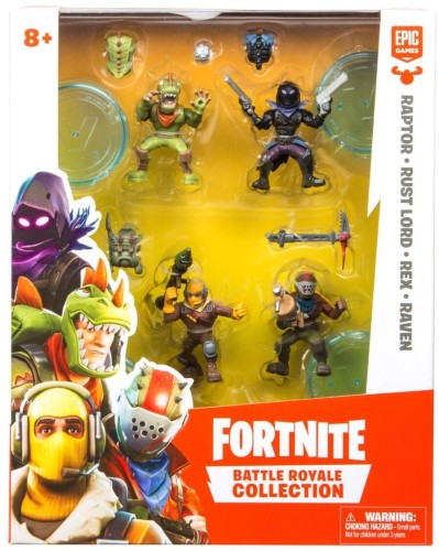 Action figure Fortnite: 4-pack 5 cm