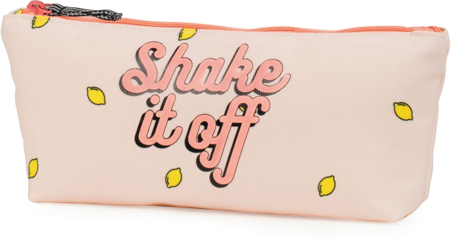 Make-Up Bag Awesome Girls pink: 9x21x4 cm