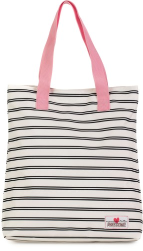 Shopper Awesome Mermaid stripes: 38x33x15 cm
