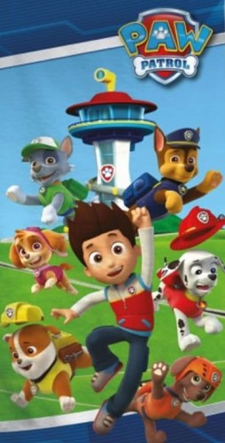 Badlaken Paw Patrol group: 70x140 cm