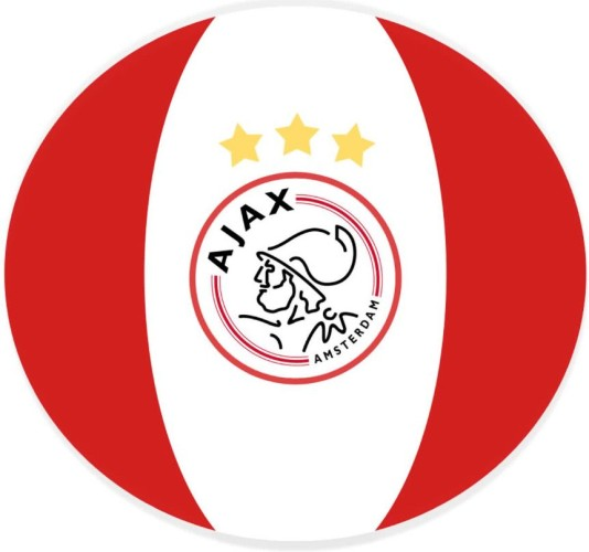 Bal ajax pluche (552SPEELBAL5WR)