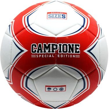 Bal Campione wit/rood