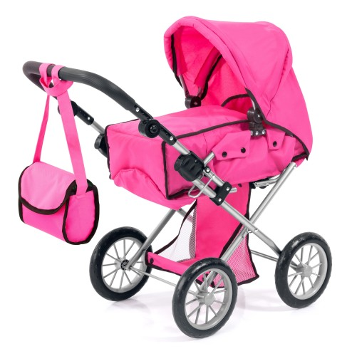 Poppenwagen Bayer City Star: roze (13629AA)