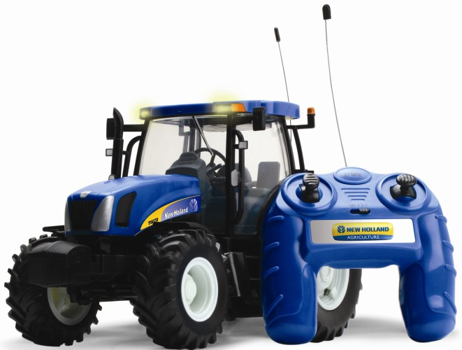 Remote Control New Holland T6070 tractor Britains(42601)