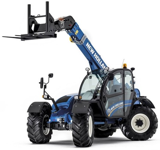 New Holland LM742 telescooplader Britains (43085)