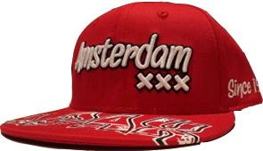 Cap ajax junior rood panel