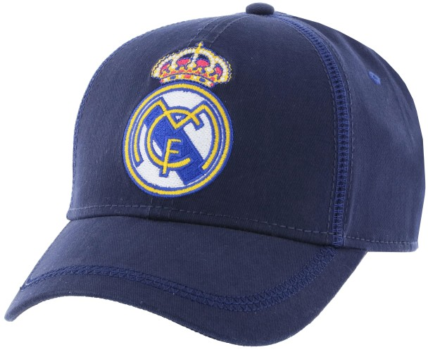 Cap real madrid  junior blauw