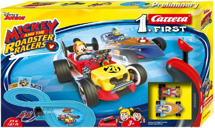 Roadster Racers Mickey Mouse Carrera FIRST (63012): 2 meter
