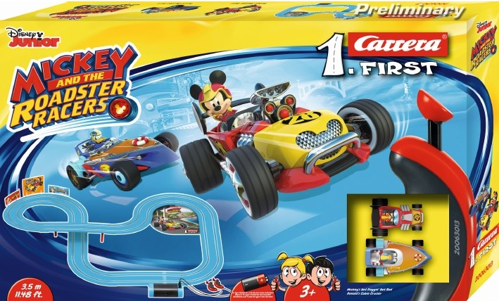 Roadster Racers Mickey Mouse Carrera FIRST