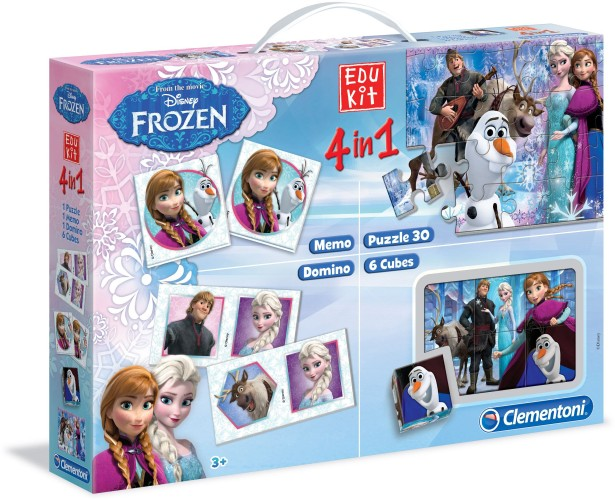 Superkit Frozen: 4 in 1 Clementoni (13495)
