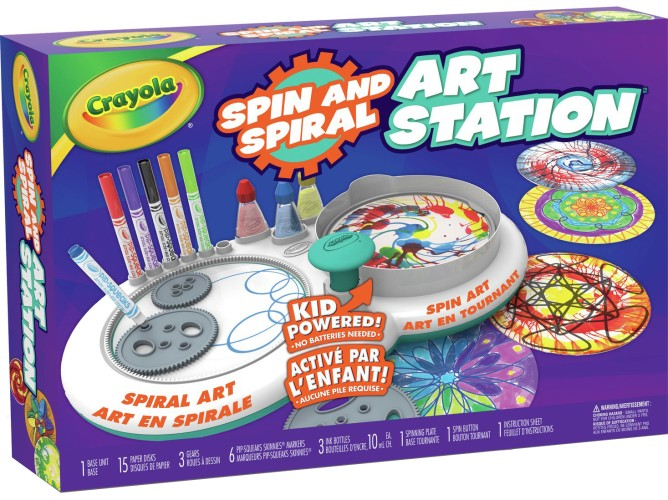 Spin and Spiral Art Station Crayola (74-7324)