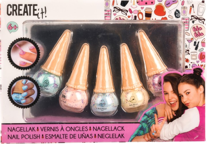 Nagellak icecream Create It: set van 5 (84133)