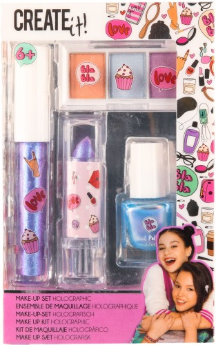 Make-up set Create It: 4-delig (84140)
