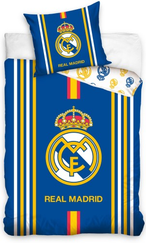 Dekbed real madrid stripes