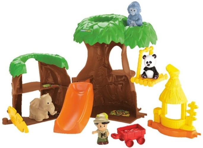 Dieren boomhuis Little people