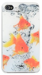 Hardcase Epoxy Dresz: iPhone 4/4S Fish (IPH4-037)