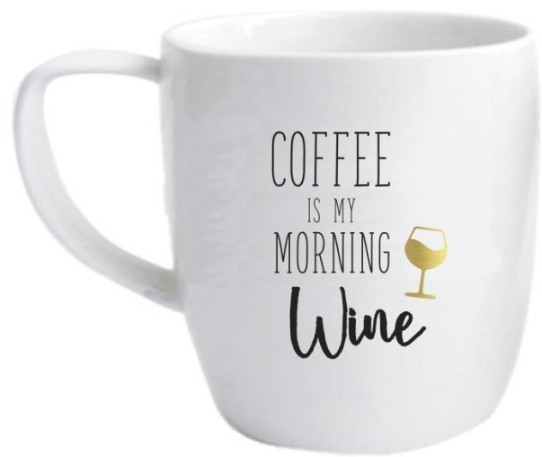 Mok Dresz: Coffee is my morning wine (5001105001)