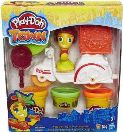 Fantasy Play-Doh Town: Pizza bezorger 140 gram