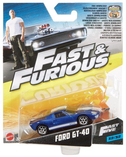 Die-cast vehicle Fast & Furious: Ford GT-40