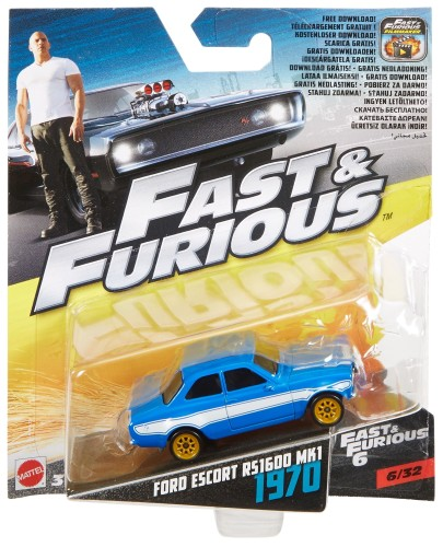 Die-cast vehicle Fast & Furious: Ford Escort