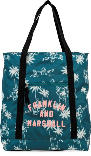Shopper Franklin M. Girls blue: 41x33x15 cm
