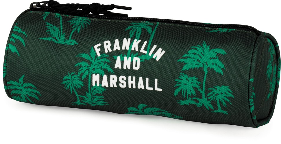 Etui Franklin M. Boys green: 8x23x8 cm