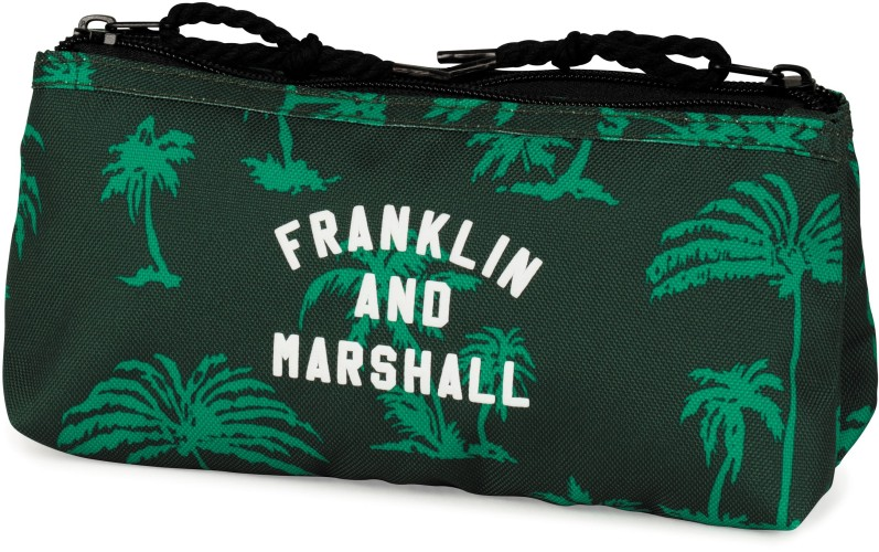 Etui Franklin M. Boys green: 10x21x6 cm