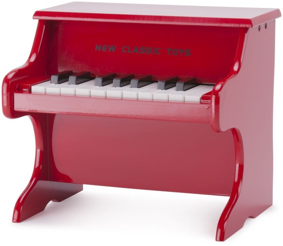 Piano rood New Classic Toys 29x28x25 cm (10155)