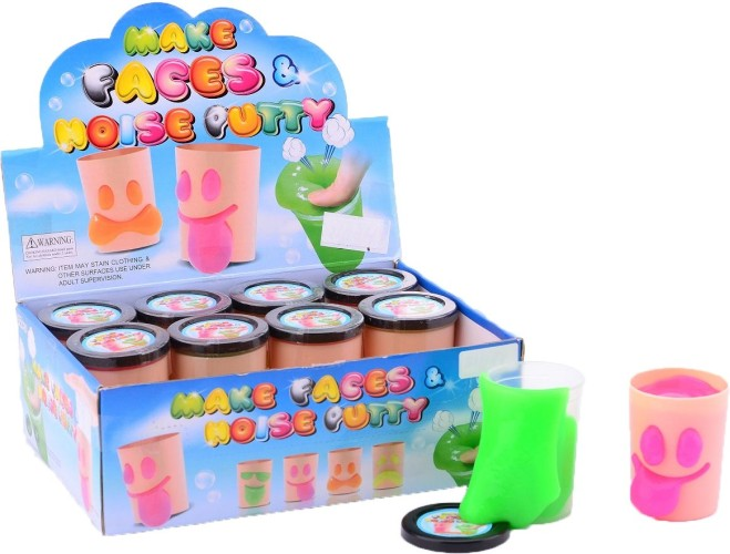 Putty JohnToy: funny face putty