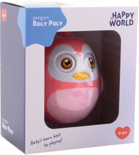 Roly Poly Happy World JohnToy: Pinguin