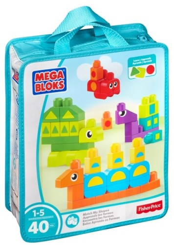 Learn my Shapes Mega Bloks