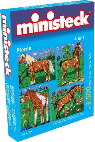 Paarden Ministeck 4-in-1: 3500-delig