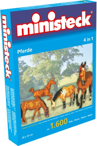 Paarden Ministeck 4-in-1: 1600-delig