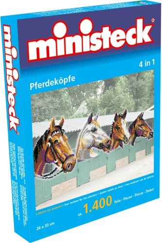 Paard Ministeck 4-in-1: 1400-delig