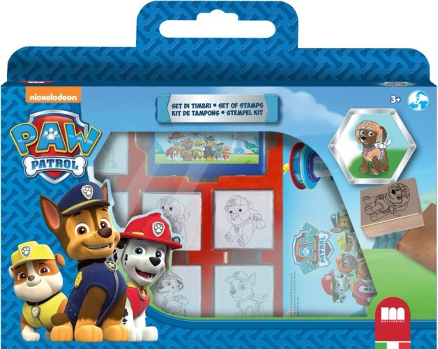 Stempelset luxe Paw Patrol: 12-delig