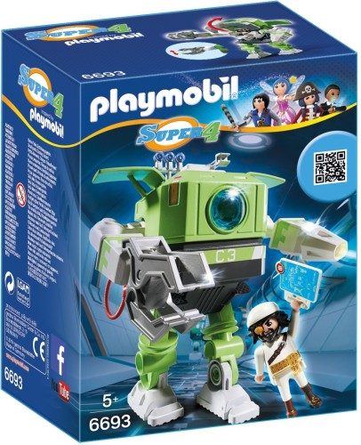 Cleano-Robot Playmobil (6693)