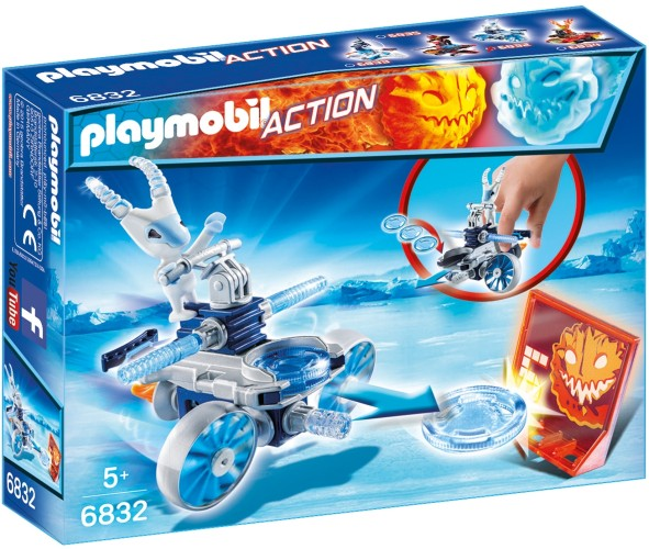 Frosty met disc-shooter Playmobil (6832)