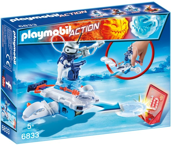 Icebot met disc-shooter Playmobil (6833)