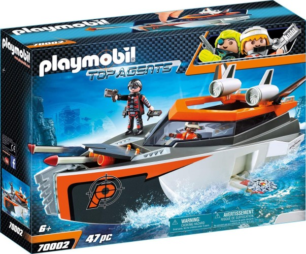 Spy Team Turboschip Playmobil (70002)