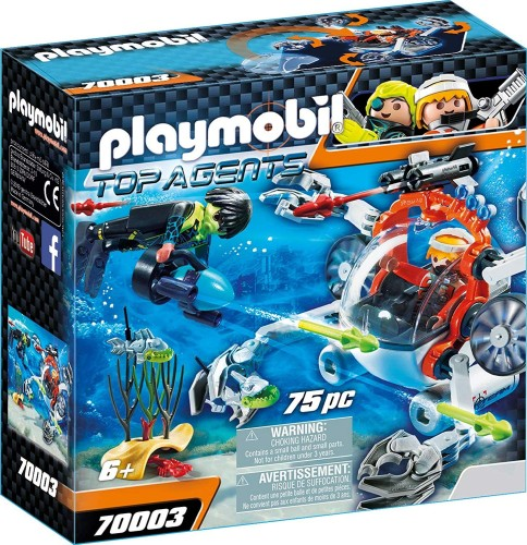 Spy Team Bemande onderwaterrobot Playmobil (70003)
