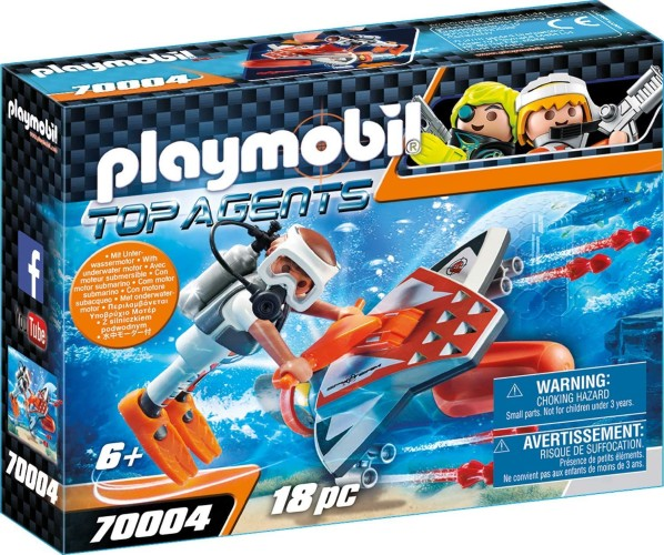 Spy Team Onderwaterjet Playmobil (70004)