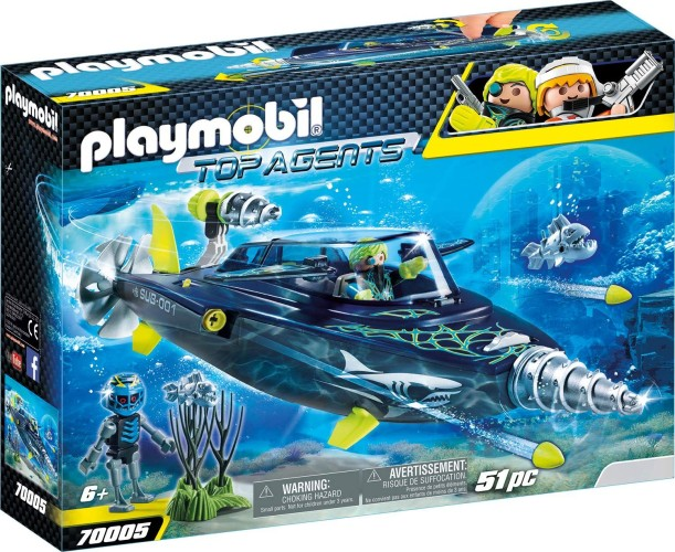 S.h.a.r.k. Team Drilonderzeeer Playmobil (70005)