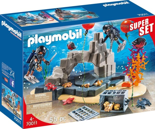 SuperSet SIE Onderwatermissie Playmobil (70011)