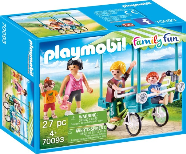 Familiefiets Playmobil (70093)
