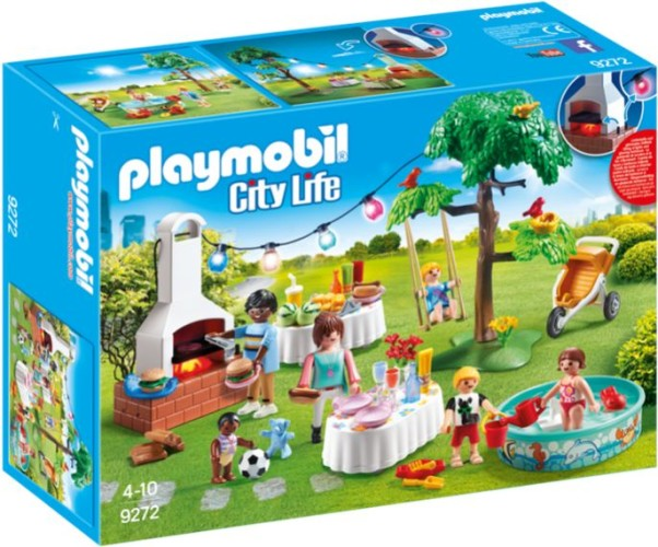 Familiefeest met barbecue Playmobil (9272)