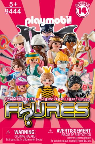 Minifigures Playmobil serie 14: girls (9444)