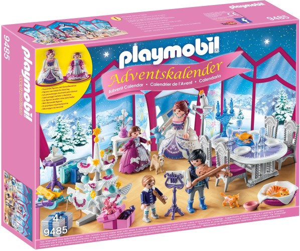 Adventskalender Kerstfeest in salon Playmobil (9485)