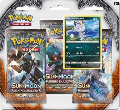 Pokemon blister SM3: Sun & Moon Burning Shadows