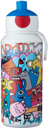 Pop-up beker Grafitti Mepal